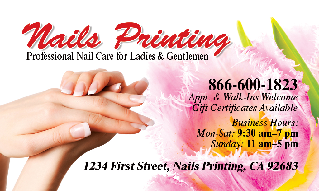 Business card front nails printing 866 600 1823 bc 0001 front colourmoves Image collections